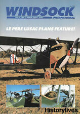 Windsock International V9 N2 French Le Pere LUSAC Russian Lebed Salmson Fokker