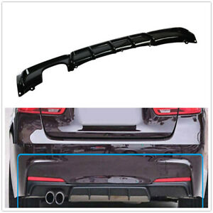 Performance Style Rear Bumper Diffuser Lip For BMW 3 Serie F30 F31 12-18 Glossy