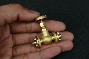 3.5mm pipe 1/4 x 40 inline Globe Valve Flange type for live steamGV-B2