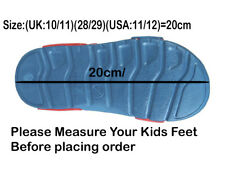 Marvel Spiderman Sandal Shoes Blue Hook Loop,Adjustable,Official Licensed.