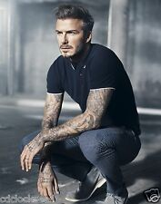 David Beckham / Sexiest Man Alive  11 x 14 / 11x14 GLOSSY Photo Picture IMAGE #2