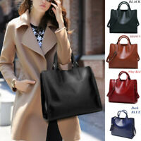 Women Designer Fashion Handbag Tote Large Office Ladies Shoulder Bags PU Leather