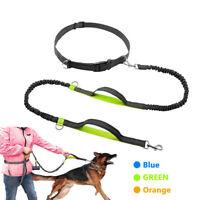 Reflective Elastic Rope Dog Lead Pet Collar Training Running Jogging Dog Leash