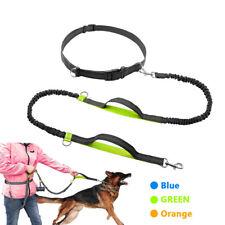 Reflective Elastic Hands Free Dogs Lead Running Belt Jogging Waist Pet Dog Leash