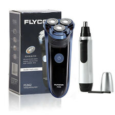 Rotary 3D Rechargeable Washable Cordless Electric Shaver Razor Nose Hair Remover