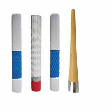 Roxan Rubber Bat Grip with Wooden Cone, Multicolour, Full Size -Pack of 3 Us