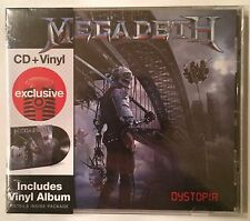 Megadeth 'Dystopia' Exclusive Limited Edition Bonus Vinyl LP Album CD Brand New