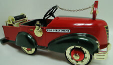 Fire Truck Pedal Car 1930s Ford Fire Engine Rare Vintage Classic Midget Model