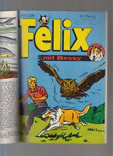 Felix Sammelband Nr 16 mit 234,235,236(Bessy-Cover) Alle mit Bessy, Ulla + Peter