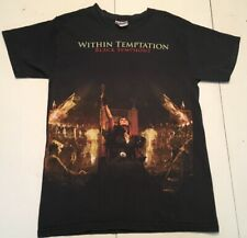 Within Temptation Black Symphony Album T Shirt Adult Small Metal Music Tee
