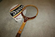Rare Vintage Tad Davis Tennis Racket 4L with Cover Victor