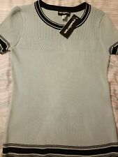 NWT KARL LAGERFELD Paris Women's Size Small Knit Short Sleeve Top