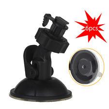 6pcs Car Dash Cam Camera Mount Holder Bracket Suction For G1W G1W-B G1W-C G1W-BC