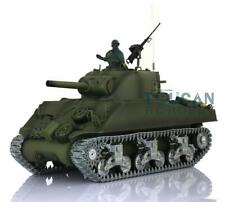 US Stock Henglong 1/16 6.0 M4A3 Sherman RC Tank 3898 360° Turret