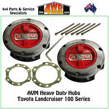 AVM Free Wheeling Hubs fits 100 /105 Series Landcruiser with Marks Part Time Kit