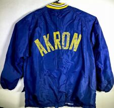VTG Russell Team Issued Akron ZIPS Football sideline coat XL MADE USA #75 NCAA