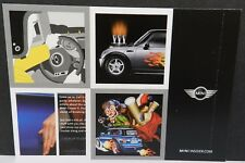 MINI COOPER S 2004 04 CAR SPORTS SILVER DEALERSHIP DEALER PROMO POSTCARD