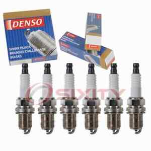 6 pc Denso Standard Spark Plugs for 1998-1999 Nissan Maxima 3.0L V6 Ignition md