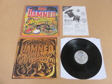 THE DAMNED Anything LP ORIGINAL POP UP GATEFOLD UK 1ST PRESSING & INSERT MCG6015