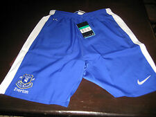 EVERTON CHANGE HOME SHORTS 2012/13,TAGS/PACKET.XL BOYS