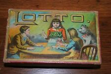 RARE CIRCA 1890'S McLOUGHLIN BROTHERS GAME OF LOTTO
