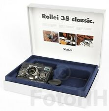 "ROLLEI 35 ""BLACK MAGIC"" IN SILVER WITH BLACK CARBON AND SERIALNUMBER PROTOTYP"
