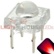 100 x LED 5mm Dome Superflux Red Piranha LEDs Sign Car Brake Lights Super Flux