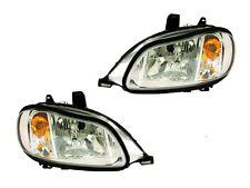 2002-2013 FREIGHTLINER M2 100 106 112 Driver & Passenger HEADLIGHT PAIR w/Bulb