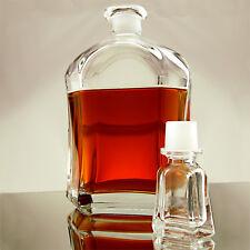 Bormioli Rocco Capitol Whiskey Liquor Decanter- Italian Made- Bar Alcohol Glass