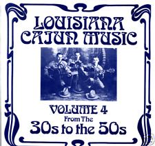 Louisiana Cajun Music Vol 4 Sealed LP 1930-50's recordings