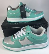 Baby Phat New Janelle Women Sneakers Size 9 M Light Green/ Silver