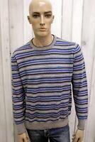 HARMONT&BLAINE Maglione Uomo Taglia XL Lana Casual Pull Pullover Sweater Man