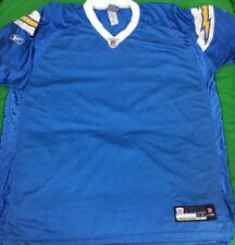 Authentic Reebok On Field San Diego Chargers NFL Jersey SZ 2XL Blank NWOT'S