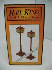 RAIL KING MTH MT-1029 No. 57 Orange Street Lamps Die-cast  NEW