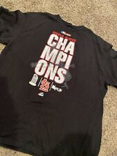 Mens Black St Louis Cardinal Champion Shirt Top 2X Majestic