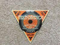 "Harley Davidson ""Built for Travel"" Tin sign new"