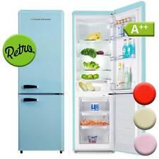 Kühl-Gefrierkombination A++ Kühlschrank freistehend Retro Schaub Lorenz blau NEU