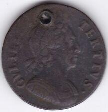 1700 GUGLIELMO III HALF-Penny *** Da collezione *** Rifugiato ***