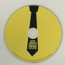 Super Junior M Swing - 3rd Mini Album - Music CD Disc Only - Replacement Disc