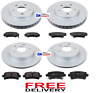 FOR VAUXHALL INSIGNIA 1.6 1.8 2.0CDTi FRONT & REAR BRAKE DISCS & PADS CHECK SIZE