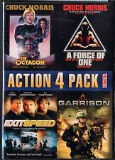 Action 4 Pack, Vol. 2 (DVD ) The Octagon / A Force of One/ Exitspeed / Garrison