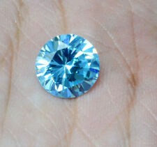 Cubic Zirconia Russian Simulated Blue Topaz AAA quality Round 4.5mm Loose Stones