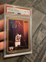 Michael Jordan PSA 8 Skybox 1990 #41 Card Collector Goat Chicago Bulls INVEST NR