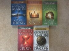 Game of Thrones 1-5 set Martin PB lot A Song of Ice and Fire series Dance Feast