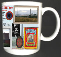 ROYSTON DRIFT COLLIERY COAL MINE MUG. LIMITED EDITION GIFT MINERS YORKSHIRE PIT