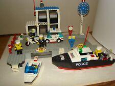 LEGO TOWN NAUTICA VINTAGE 6540-1 : PIER POLICE de 1991 ,en très bon état