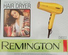 Remington D3190 Hair Blow Dryer with Ionic + Ceramic Tourmaline Technology -