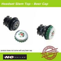 """NC Nailed Headset Stem Top Beer Cap & Bolt Star Nut 1 1/8"""" for Mountain BMX Bike"""