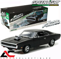 "GREENLIGHT 19027 1:18 1970 DOM'S DODGE CHARGER ""2001 FAST N FURIOUS"""