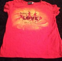 The Beatles Love Cirque Du Soleil T-Shirt Women's  Small  Las Vegas, NV.